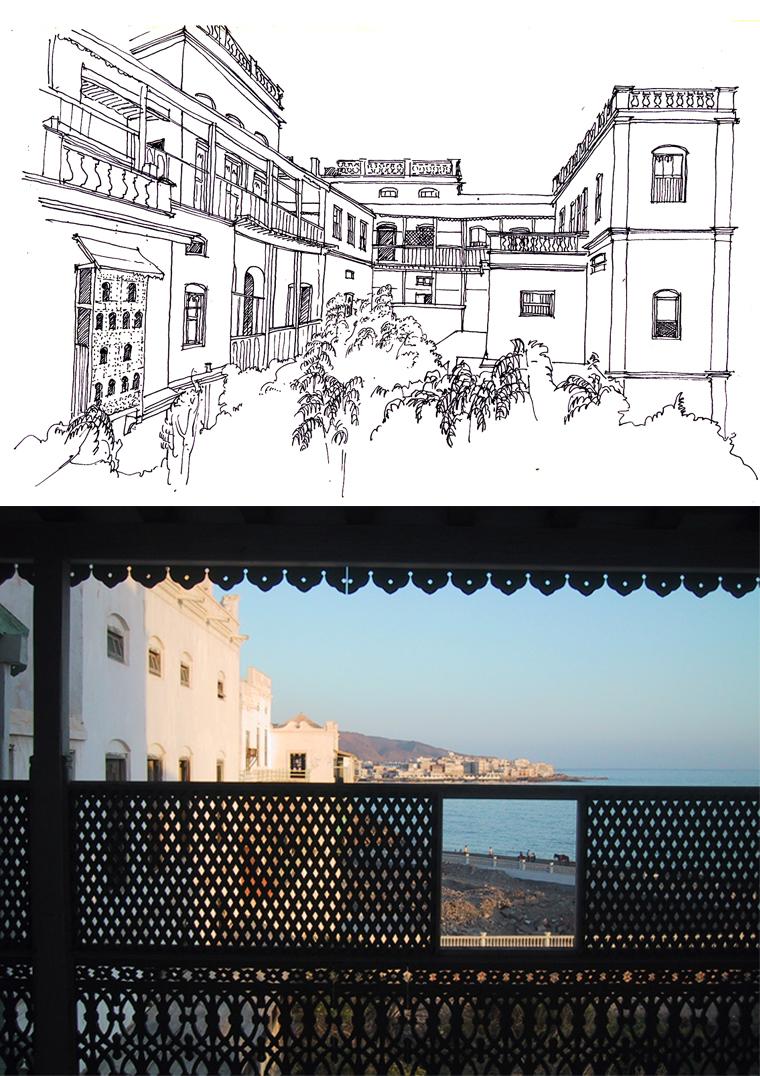 Palais de Mukalla Yémen