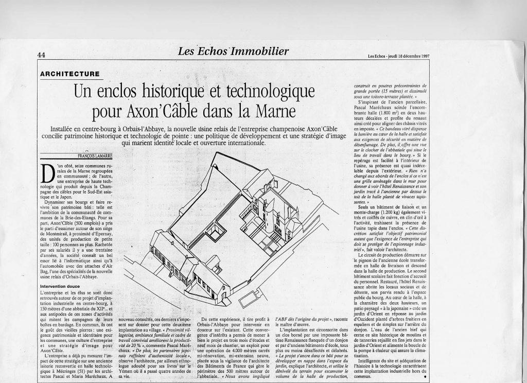 Les Echos 18.12.97