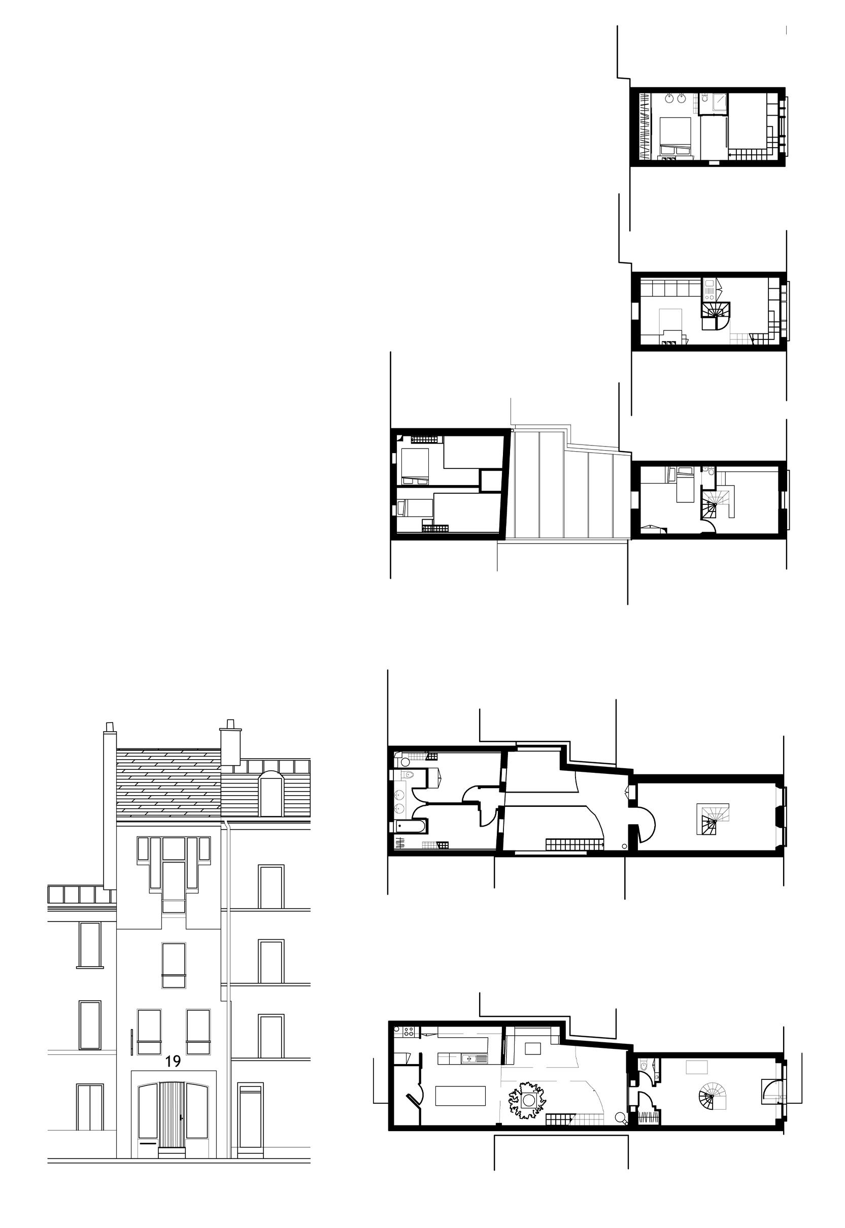 Menuiserie devenue loft Paris 14
