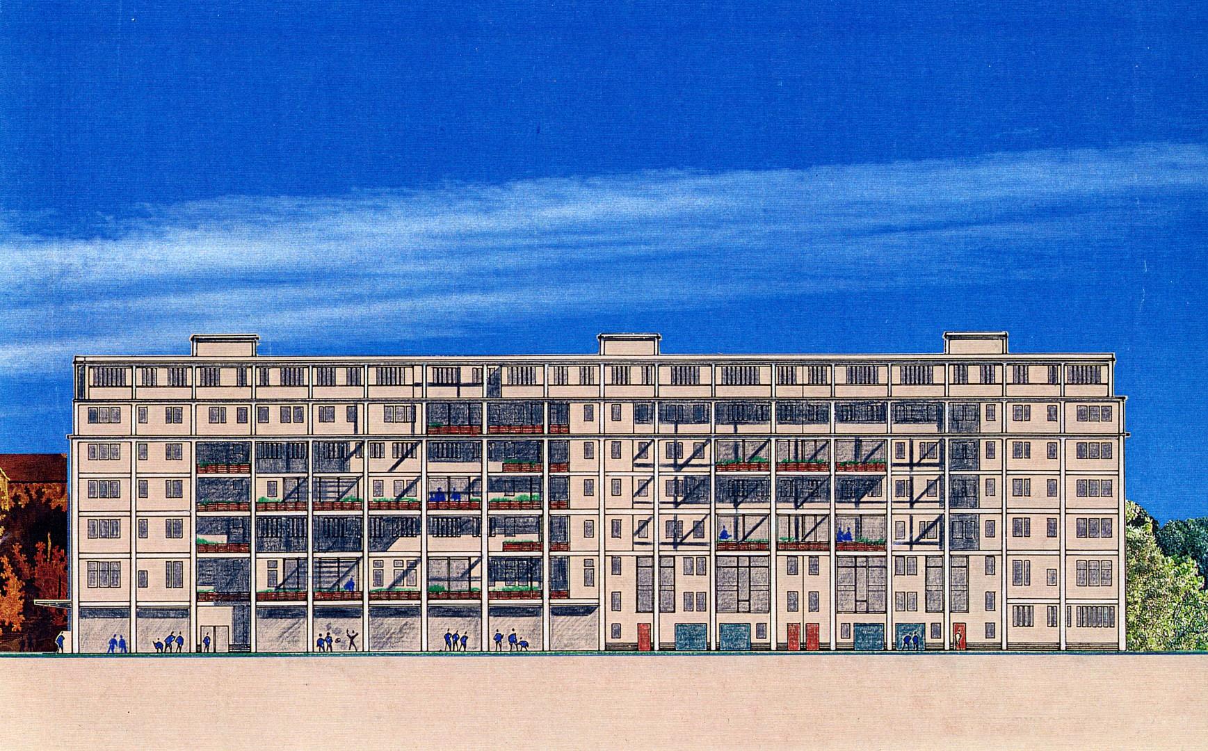 Transformation usine de placage en logements Montreuil