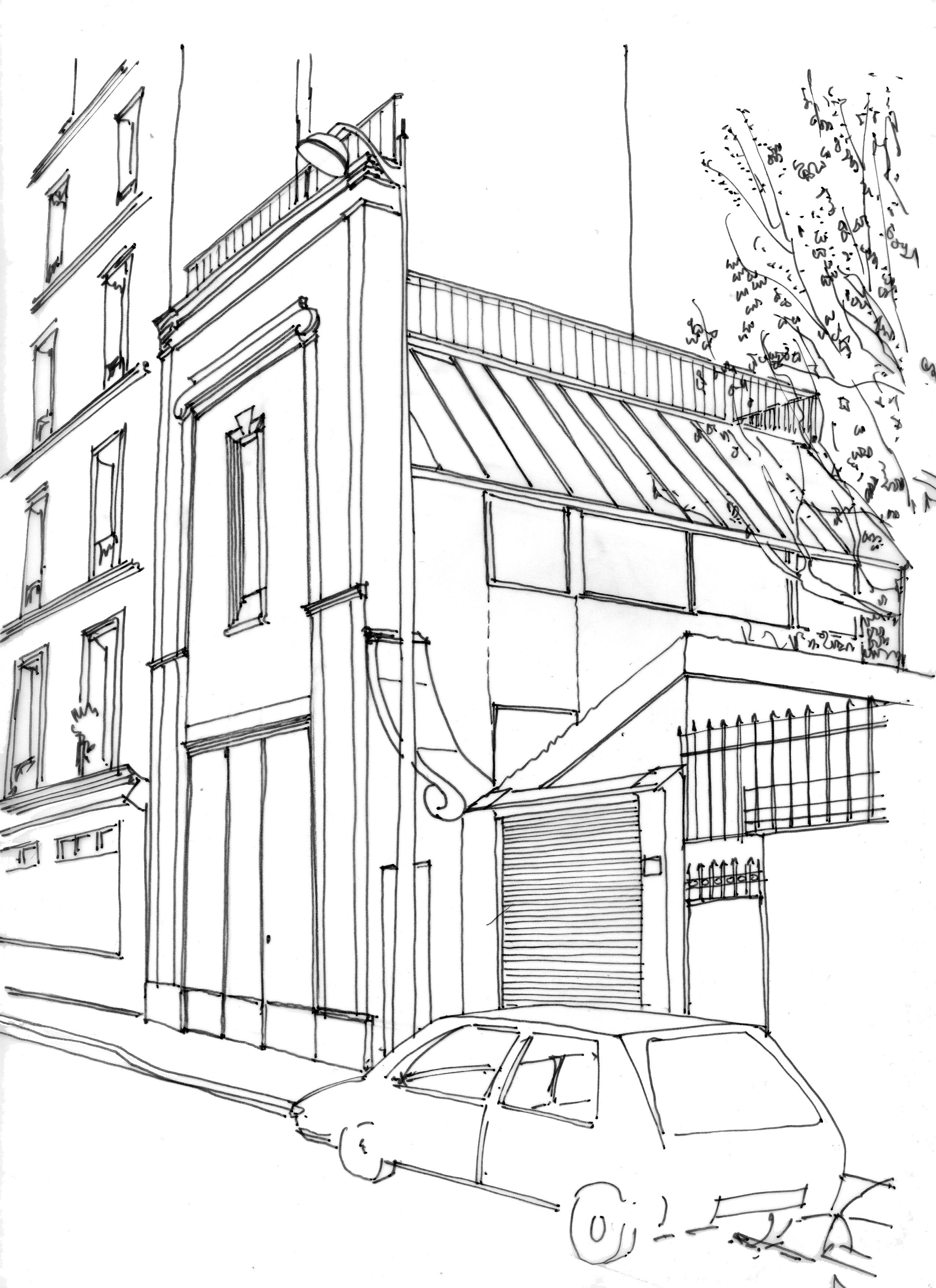Atelier d'artiste rue Ledion 75014