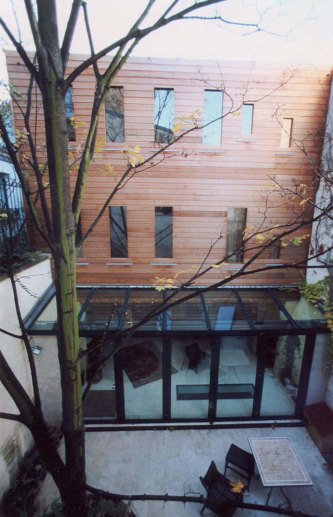 Maison bois Paris 14